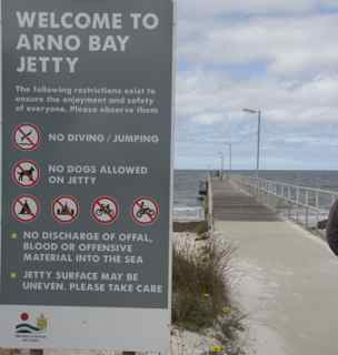 arno jetty
